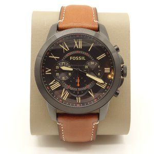 NEW FOSSIL Barstow Watch Brown Leather Band